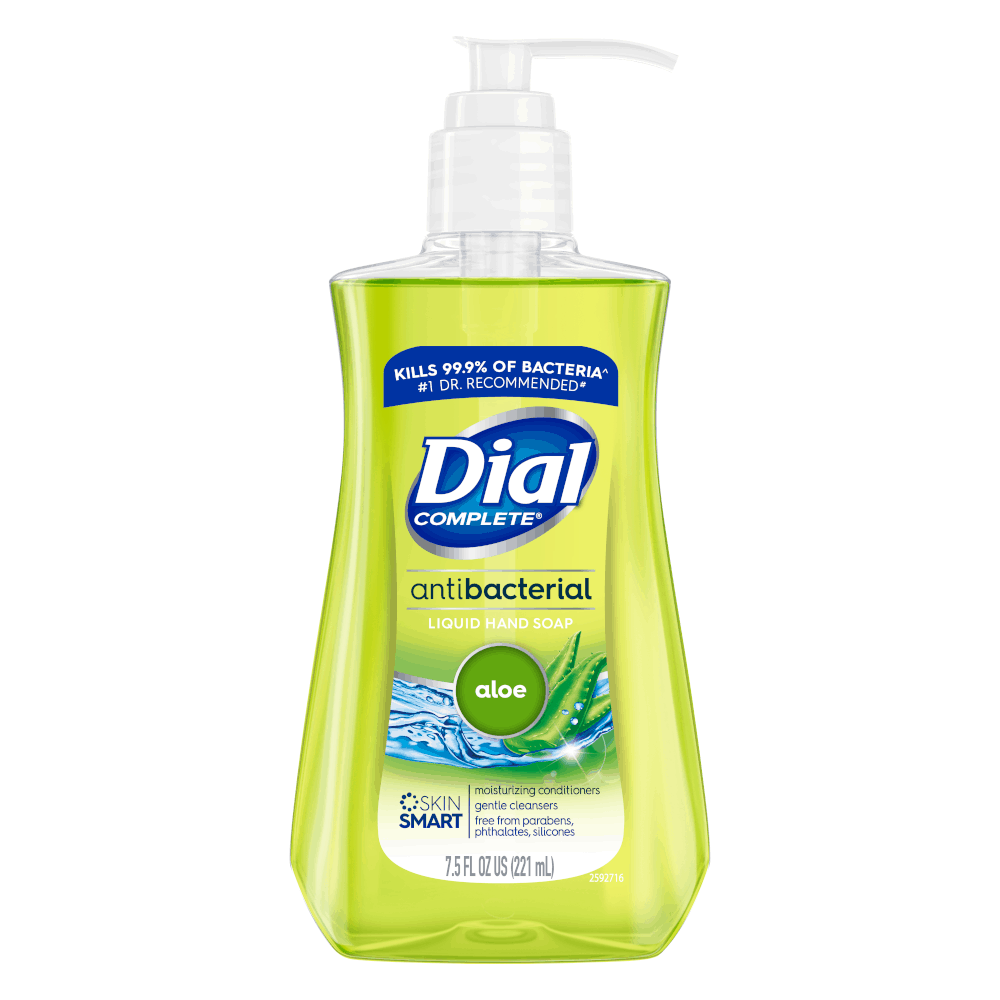 Dial Antibacterial Hand Soap 7.5 fl. oz. available at MFS Supply